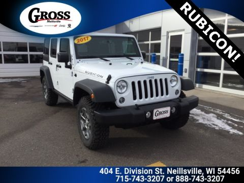 PRE-OWNED 2017 JEEP WRANGLER UNLIMITED RUBICON 4WD