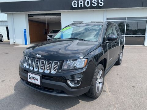 PRE-OWNED 2016 JEEP COMPASS HIGH ALTITUDE 4WD