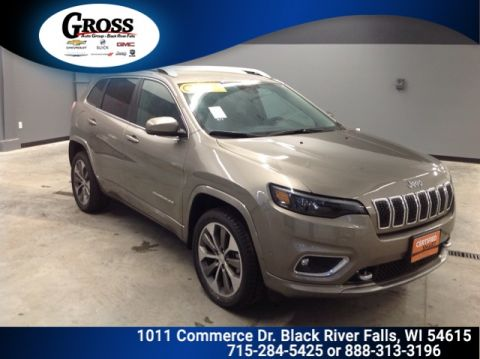 CERTIFIED PRE-OWNED 2019 JEEP CHEROKEE OVERLAND 4WD