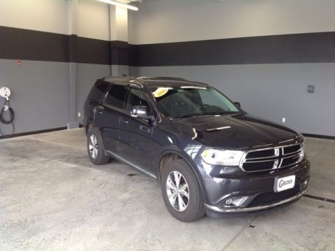 CERTIFIED PRE-OWNED 2016 DODGE DURANGO LIMITED AWD