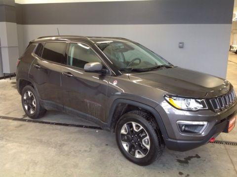 CERTIFIED PRE-OWNED 2018 JEEP COMPASS TRAILHAWK 4WD